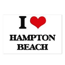 I Love Hampton Beach Postcards (Package of 8)
