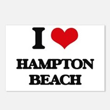 I Love Hampton Beach Postcards (Package of 8)