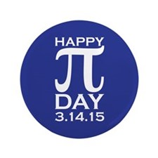 """Happy Pi Day 3.5"""" Button (100 pack)"""