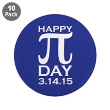 "Happy Pi Day 3.5"" Button (10 pack)"