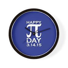 Happy Pi Day Wall Clock