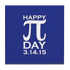 Happy Pi Day Tile Coaster