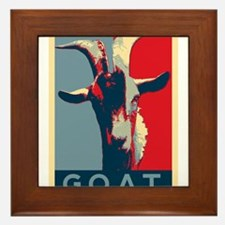 Greatest of all time - G.O.A.T. Framed Tile