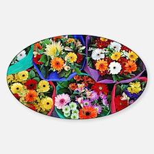 Colorful floral bouquet Decal