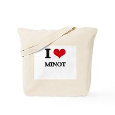 I Love Minot Tote Bag