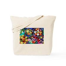 Colorful floral bouquets Tote Bag