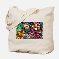 Colorful floral bouquets Tote Bag