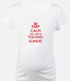 Keep calm you live in Tolono Ill Shirt