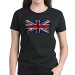 Vintage United Kingdom Women's Dark T-Shirt