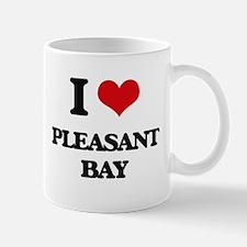 I Love Pleasant Bay Mugs