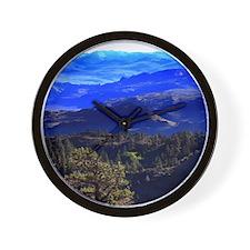 Purple Mountain Majesties Wall Clock