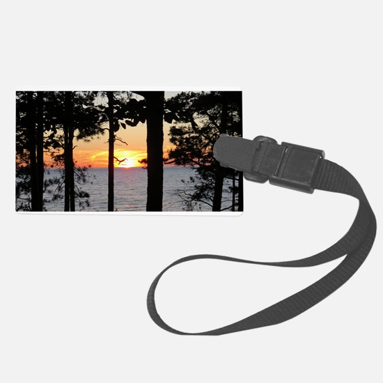 Lake Superior Luggage Tag