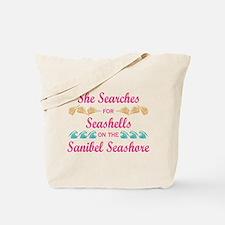 Sanibel shelling Tote Bag