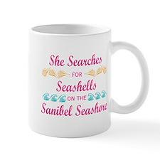 Sanibel shelling Mug