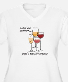 I makw wine disappear what is your superpower? Plu