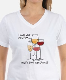 I makw wine disappear what is your superpower? T-S