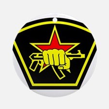 Spetsnaz Russian Special Forces S Ornament (Round)