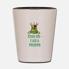 Frog Prince Shot Glass