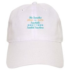 Sanibel shelling Baseball Cap