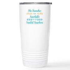 Sanibel shelling Travel Mug