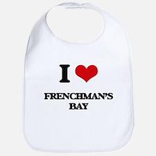 I Love Frenchman'S Bay Bib
