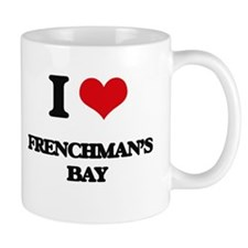 I Love Frenchman'S Bay Mugs