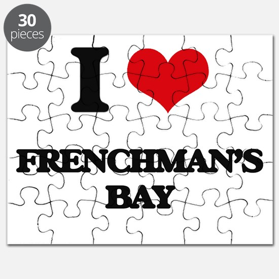 I Love Frenchman'S Bay Puzzle