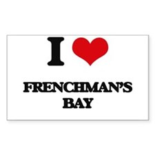 I Love Frenchman'S Bay Decal