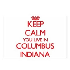 Keep calm you live in Col Postcards (Package of 8)