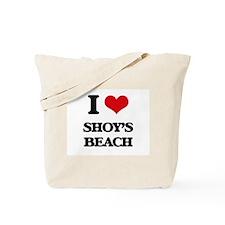 I Love Shoy'S Beach Tote Bag