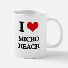 I Love Micro Beach Mugs