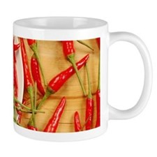 Red chili peppers Mugs