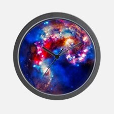 Colorful Cosmos Wall Clock