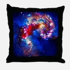 Colorful Cosmos Throw Pillow