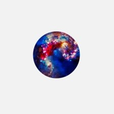 Colorful Cosmos Mini Button