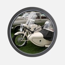 BMW Motorcycle with Sidecar Wall Clock