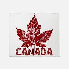 Cool Canada Souvenir Throw Blanket