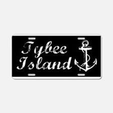 Tybee Island, Ga Beach Aluminum License Plate