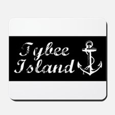 Tybee Island, Ga Beach Anchor! Mousepad