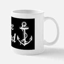 Tybee Island, Ga Beach Anchor! Coffee Mugs