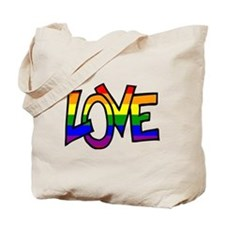 Rainbow Pride Love Tote Bag