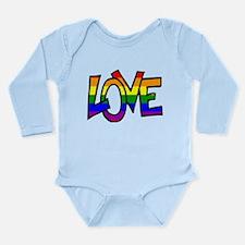 Rainbow Pride Love Body Suit