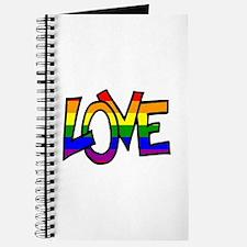 Rainbow Pride Love Journal