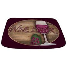 Wine Lover Wood Board Bathmat