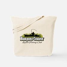 Bayou Coast Logo - Olive Tote Bag