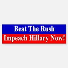 Impeach Hillary Bumper Bumper Bumper Sticker