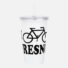 bike fresno Acrylic Double-wall Tumbler