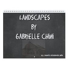 Gabrielle Chini Landscapewall Calendar