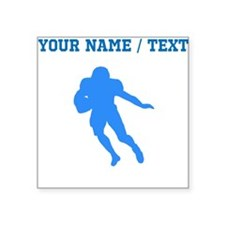 Custom Blue Running Back Sticker