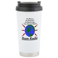 Cute Radio emergency communications Travel Mug